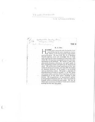 R.J. Orr - Jeweller