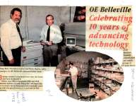 OE Celebrating 10 years of advancing technology