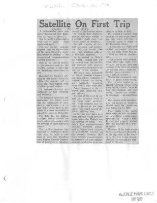 Satellite On First Trip