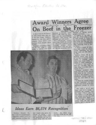 Award Winners Agree on Beef in the Freezer