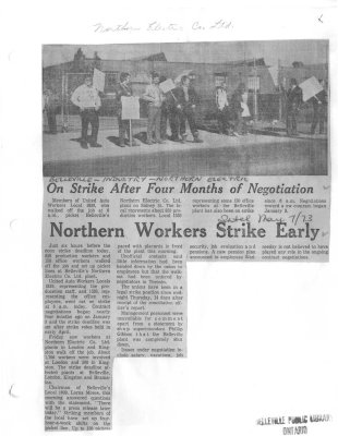 Northern Workers Strike Early