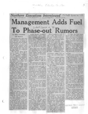Management Adds Fuel To Phase-out Rumors