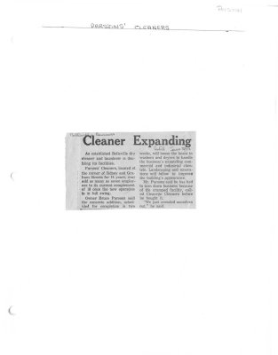 Cleaner Expanding