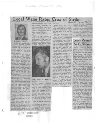 Local Wage Rates Crux of Strike