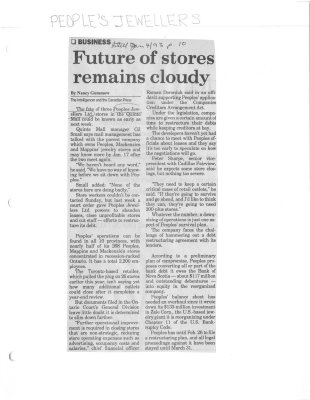 Future of stores remains cloudy