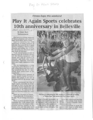 Play it Again Sports celebrates 10th anniversary in Belleville