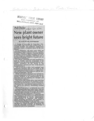 New plant owner sees bright future