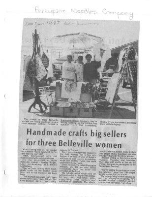 Handmade crafts big sellers for three Belleville women