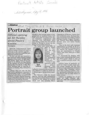 Portrait group launched
