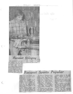 Racquet Stringing: Racquet Sports Popular