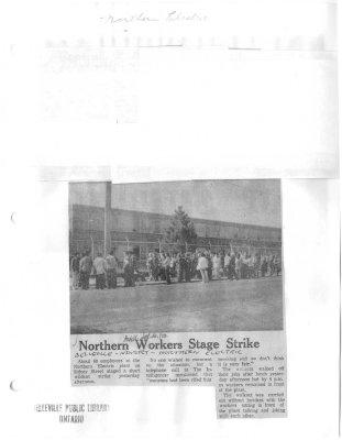Northern Workers Stage Strike