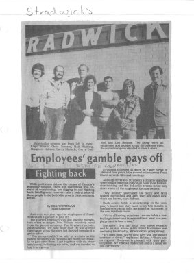 Employees' gamble pays off