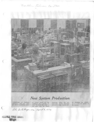 New System Production
