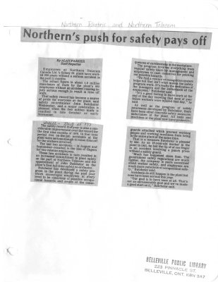 Northern's push for safety pays off