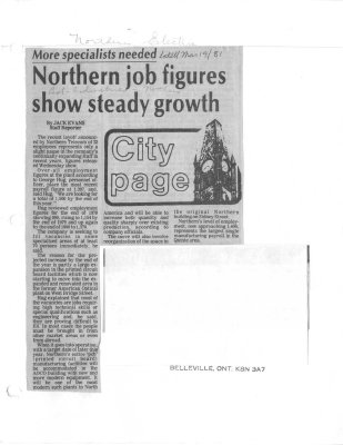 Northern job figures show steady growth