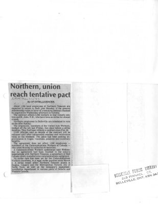 Northern, union reach tentative pact