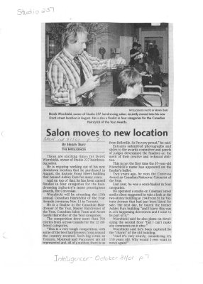 Salon moves to new location