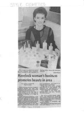 Havelock woman's business promotes beauty in area