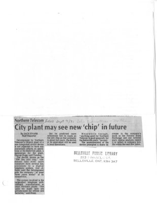 City plant my see new 'chip' in future