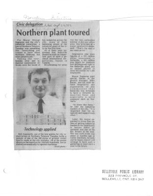 Northern plant toured