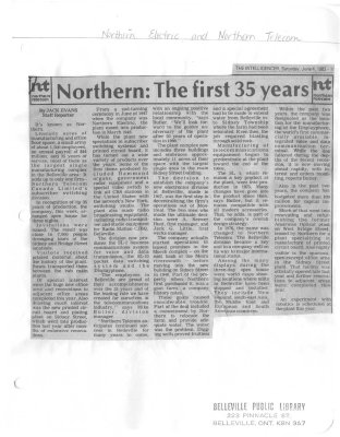 Northern: The first 35 years