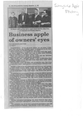 Business apples of owners' eyes