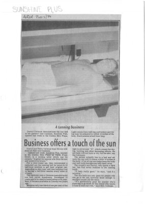 Business offers a touch of the sun