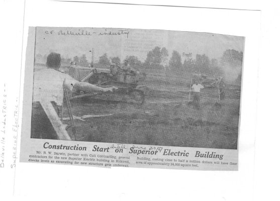 Construction Start on Superior Electric Building