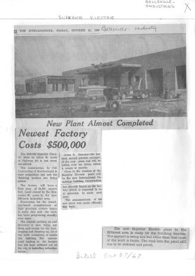Newest Factory Costs $500,000