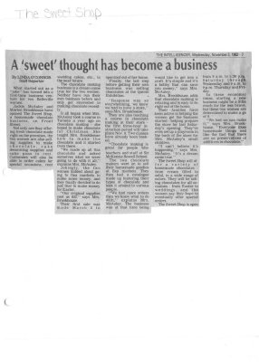 A 'sweet' thought has become a business