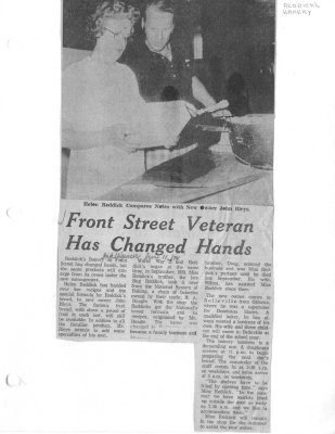 Front Street veteran has changed hands