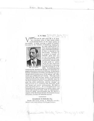 A.N. Reid - Tailor