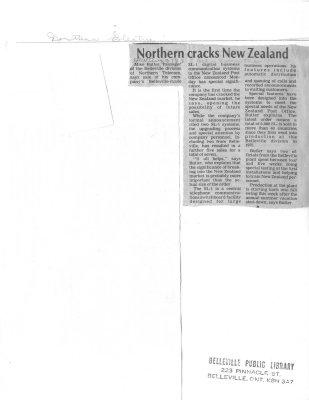 Northern cracks New Zealand