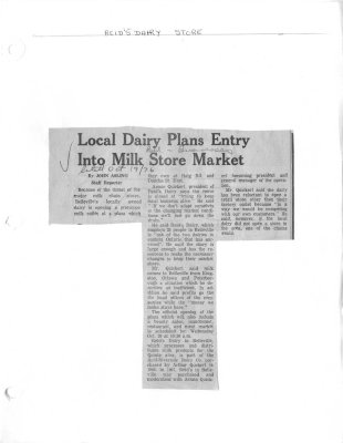 Local Dairy plans entry into milk store market
