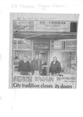 City tradition closes its doors
