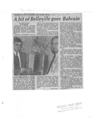 A bit of Belleville goes to Bahrain