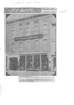 Tickell & Sons: 275 Front St.