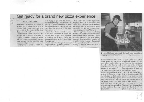 Get ready for a brand new pizza experience