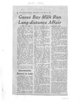 Goose Bay Milk run long-distance affair