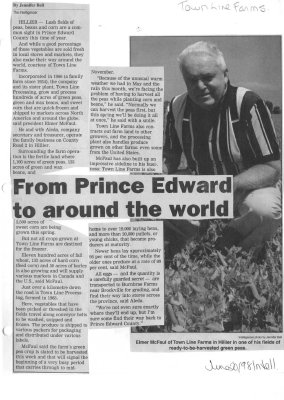 From Prince Edward to around the world