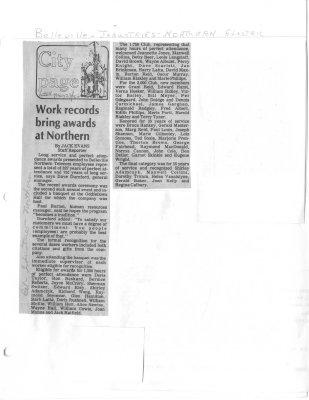 Work records bring awards at Northern