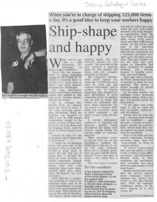 Ship-shape and happy
