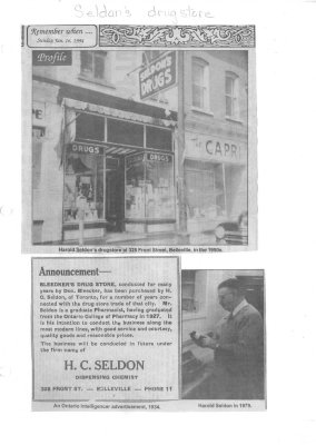 Remember When: Dispensing cures at Seldon's counter