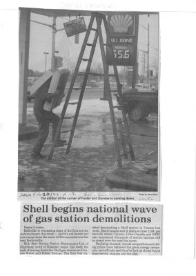 Shell begins national wave of gas station demolitions