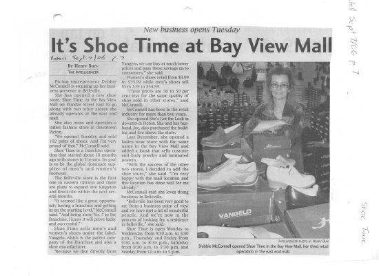It's Shoe Time at Bay View Mall