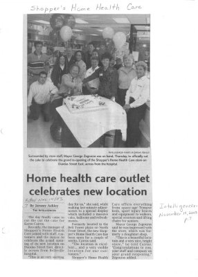 Home health care outlet celebrates new location