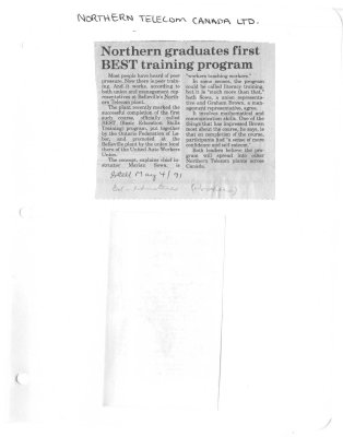Northern graduates first BEST training program