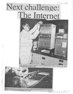 Next challenge: The Internet
