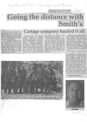 Going the distance with Smith's