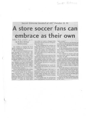 A store soccer fans can embrace as their own
